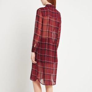 BCBGeneration Tops - BCBGENERATION plaid shirt dress